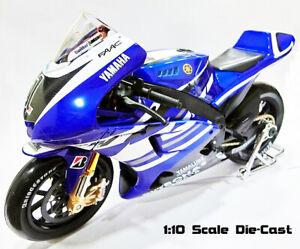 Maisto 2011 Yamaha Jorge Lorenzo #1 MotoGP 1/10 Scale M1