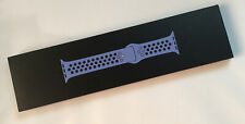 Genuine Apple Watch NIKE Sport Band ROYAL PULSE / BLACK 44mm /42mm NEW + SEALED