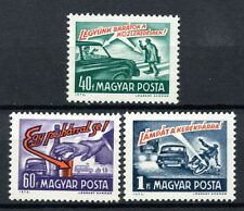 Hungary 1973 SG#2827-9 Road Safety MH Set #A53273