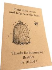 10 X ANNIVERSAIRE semence faveurs cadeaux enfants Fêtes Personnalisé