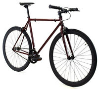 Golden Cycles Fixed Gear Single Speed Bike Bicycle Redrum 41 45 48 52 55 59CM