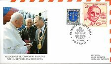 316- FDC VATICAN VISITE PAPE JEAN PAUL II  EN SLOVAQUIE