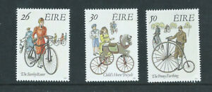 IRELAND Stamp Set Early Bicycles SG795-797 - 5 March 1991