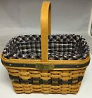 *Longaberger 1996 Edition Mini Market Basket combo