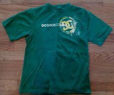 DC SKATE GREEN WITH YELLOW SHIRT T-SHIRT  BOY'S SIZE XL 8