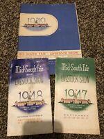 Memphis Mid-South Fair Livestock Show 1947-1949