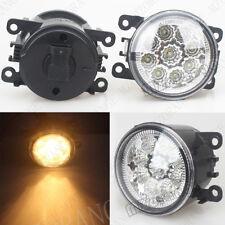 2x LED Front Fog Light Bumper Lamp For FORD Explorer 2011-2015 4F9Z15200AA Amber