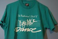 Vintage 90s DANCE T-Shirt VTG Tee Single Stitch Unisex Size Medium
