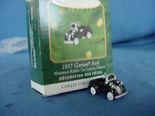 1937 Kiddie Car Classics MINIATURE Hallmark GARTON FORD tiny ORNAMENT 2001 bx&pt