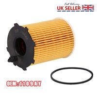 Oil Filter for Diesel Citroen Peugeot 1.4&1.6 HDI+Ford 1.4 1.5 & 1.6 TDCI 1109AY
