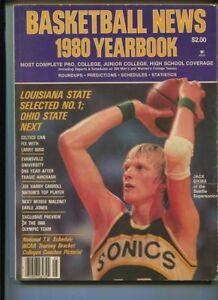Basketball News 1980 Yearbook  Jack Sikma Larry Bird Earle Jones  MBX100