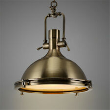 Farmhouse Nautical Adjustable Pendant Light Industrial Kitchen Lamp Fixture
