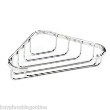 Croydex Wire Bathroom Stainless Steel Corner Soap Dish QM390941
