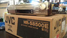 JVC VCR HIFI S-VHS MOD HR-S8500E CON TELECOMANDO