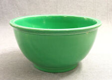 "Vintage Fiesta Green Kitchen Kraft 10"" Mixing Bowl - Fiestaware (1937 - 1944)"