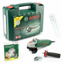 Bosch Winkelschleifer Trennschleifer PWS750-115 Diamanttrennscheibe 115mm