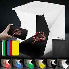 40cm Portable Photo Studio Light Box Photography LED Light Tent Foam Backdrops