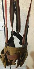 mechanics/carpenters tool belt with suspenders