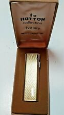 """VINTAGE NOS WIN  """"HUTTON""""  LIGHTER by ARNOLD POLLOCK  INC. NEW IN BOX!!!"""