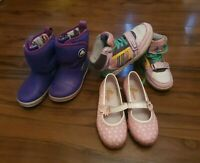*F*A*B* Girls boots size 12 Crocs, Naturino  trainers A