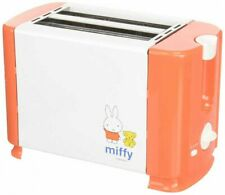 Miffy Pop Up Toaster AC100V 700W White/Orange DB-203 From Japan with Tracking
