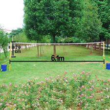 Portable Badminton Tennis Volleyball Net For Garden Indoor Outdoor Sports Games