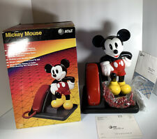 Walt Disney Mickey Mouse Design Line AT&T Landline Telephone Phone New Open Box