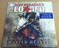 Guns N Roses DUFF McKAGAN LODADED Wasted heart 1000 MADE RED LP Vinyl SEALED