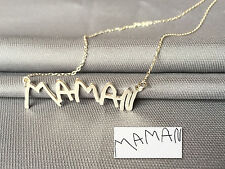 Actual Handwriting Necklace- Personalized Name Necklace- Best gift to show love