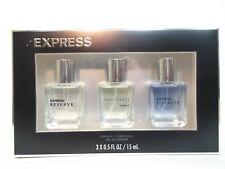 EXPRESS Loyalty Tailored & Royalty eau de Cologne fragrance spray gift set NIB