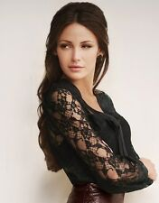 GENUINE SIZE 14 LIPSY MICHELLE KEEGAN BLACK LACE PUSSY BOW BLOUSE BNWT