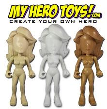 Tanya Tate Lady Titan My Hero Toys Female 5 inch Blank Customizable Vinyl Figure