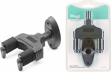 Stagg GUH-TRAP Auto Locking Guitar Wall Hanger  FITS bass ,ACOUSTIC ,ELECTRIC