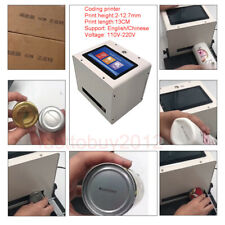 Coding printer Inkjet printer for pipe, carton, iron sheet, plastic, glass DIY