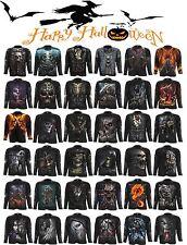 Spiral Direct HALLOWEEN Costume/Reaper/Skull/Goth/Horror/Skeleton/LongSleeve Top