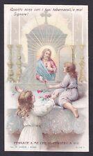 SANTINO 147 SACRO CUORE DI GESÙ - HOLY CARD IMMAGINETTA RELIGIOSA Ediz. MARINI