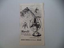 advertising Pubblicità 1957 VENTILATORI ERCOLE MARELLI
