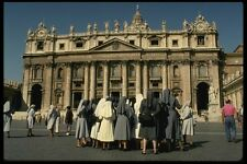 149051 Group Of Nuns Outside Of St Peters A4 Photo Print