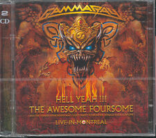 GAMMA RAY - HELL YEAH!!! LIVE IN MONTREAL - 2 CD (NUOVO SIGILLATO)