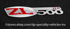 SLP ZL500 500HP OE Quality Fender/Decklid Emblem  Peel & Stick!  NEW
