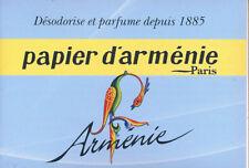 Papier d'Arménie année - Armenisches Räucherpapier -1 Heftchen à 36 Streifen