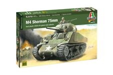 Italeri 15751 1:56 WWII M4 Sherman 75mm