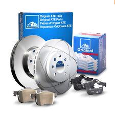 ATE | Bremsenset POWER DISC Bremsscheiben + Bremsbeläge Vorne für VOLVO