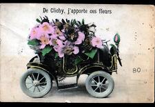 CLICHY-sous-BOIS (93) LIVRAISON de FLEURS en AUTOMOBILE , Souvenir de ,,,