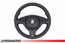 Glates Volant en Cuir BMW E46, E39 X5 M Volant avec Écran Multifu. et Airbag