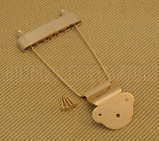 TP-ETL-G Gold Economy Long Trapeze Tailpiece for Thin Hollowbody Guitar