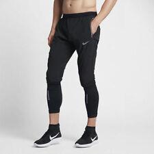 "New Nike Swift Men's 27"" Running Pants Black Reflective 857840-010 Size Large"