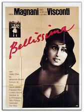 Affiche 120x160cm BELLISSIMA 1951 Luchino Visconti - Anna Magnani R70s NEUVE #