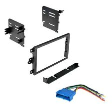 Car Radio Stereo Dash Install Kit with Harness 1990-2012 Gm Buick Cadillac (Fits: Oldsmobile Alero)