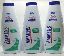 Ammens medicated powder SHOWER FRESH 11oz ( 3 pack ) (green)